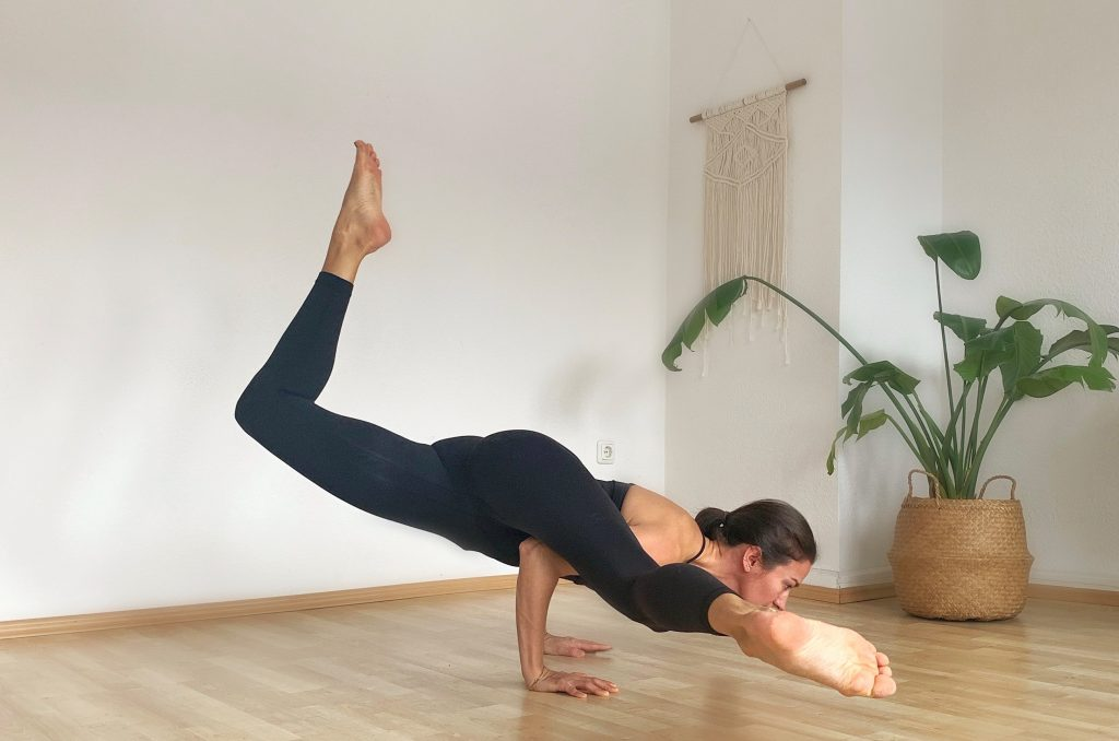Personal Yoga Training Düsseldorf mit Wina